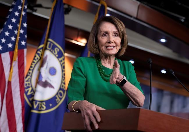 Nancy Pelosi a des réserves face à l'ACEUM