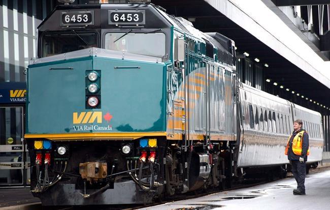 La Banque de l'infrastructure verse 71 M$ à Via Rail pour le train à haute fréquence