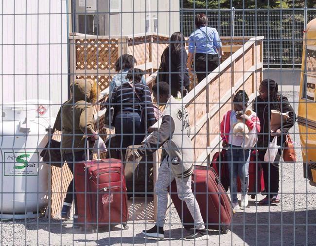 Les entrées irrégulières de migrants en baisse