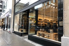 m0851 et Mackage ouvrent des boutiques au centre-ville