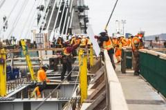 Routes: des fermetures «majeures» pour assurer l'ouverture du nouveau pont Samuel-De Champlain