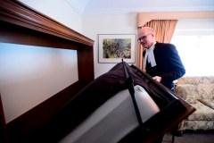 Geoff Regan ouvre les portes de son appartement