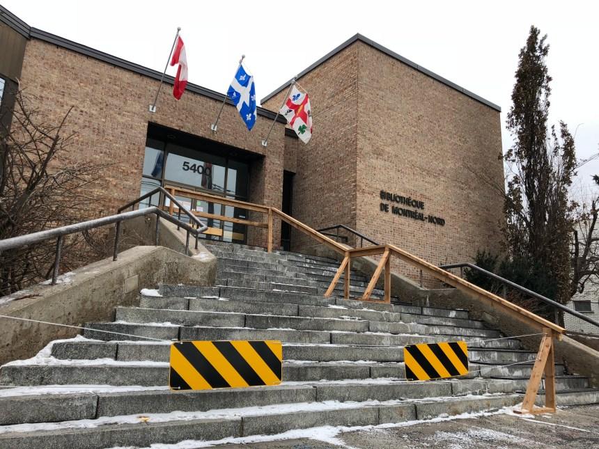 Un accident fait grimper les coûts des travaux à la bibliothèque Henri-Bourassa
