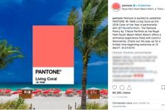 Corail: la couleur de l'année de Pantone ravira les fans de cosmétiques