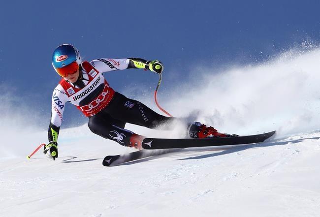 Shiffrin remporte le super-G de St-Moritz