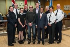 Réactivité des premiers répondants récompensée à Saint-Laurent