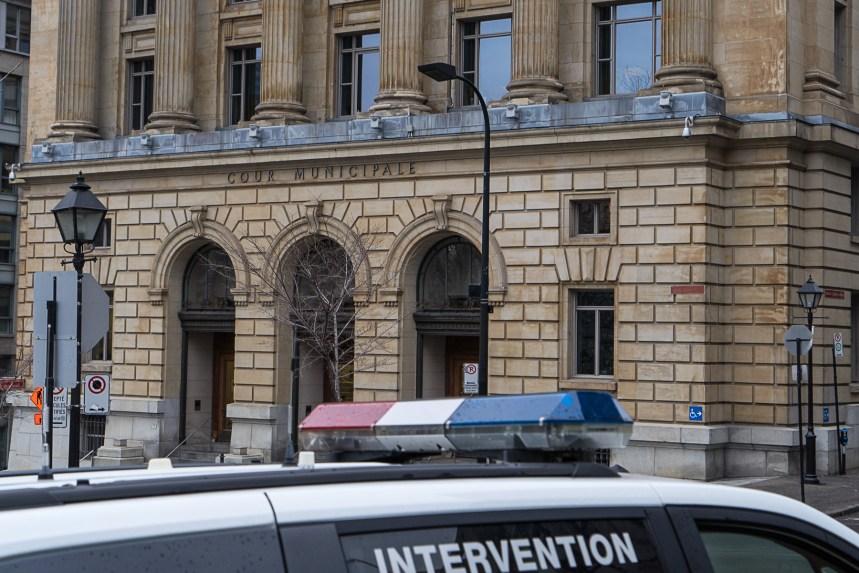 Plus de 25 policiers du SPVM appelés en cour chaque jour