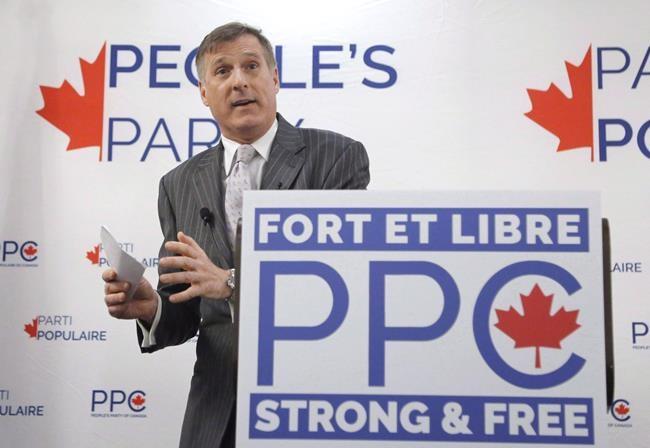 Sondage: Maxime Bernier doit participer au débat, croient la moitié des Québécois