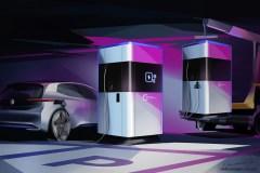 Volkswagen présente une station de recharge électrique mobile