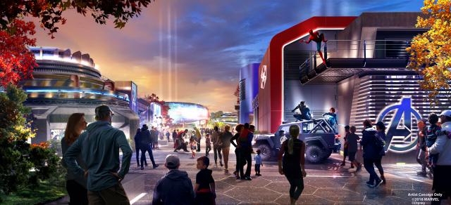 Disneyland Paris dévoile un aperçu du nouvel univers Marvel