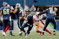 Russell Wilson et les Seahawks battent les 49ers