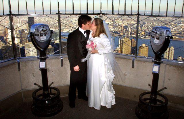 Un concours lancé pour célébrer son mariage au 86e étage de l'Empire State Building