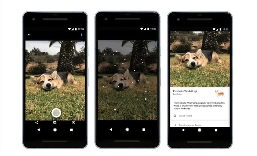 Google Lens est capable de reconnaître plus d'un milliard de sujets