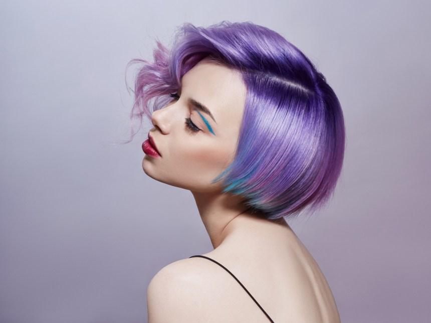 Cheveux lilas et autres tendances beauté 2019 d'après Pinterest