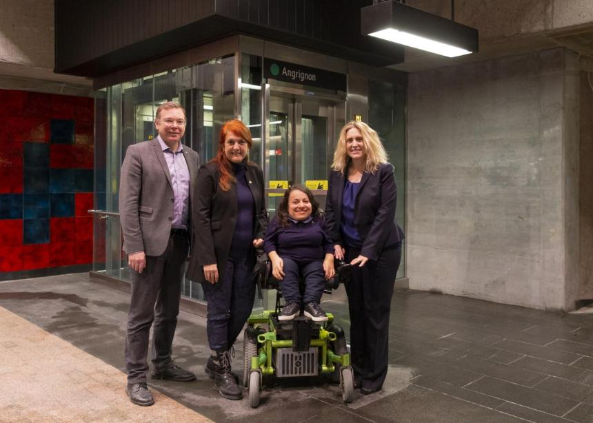 Un premier métro accessible dans Mercier