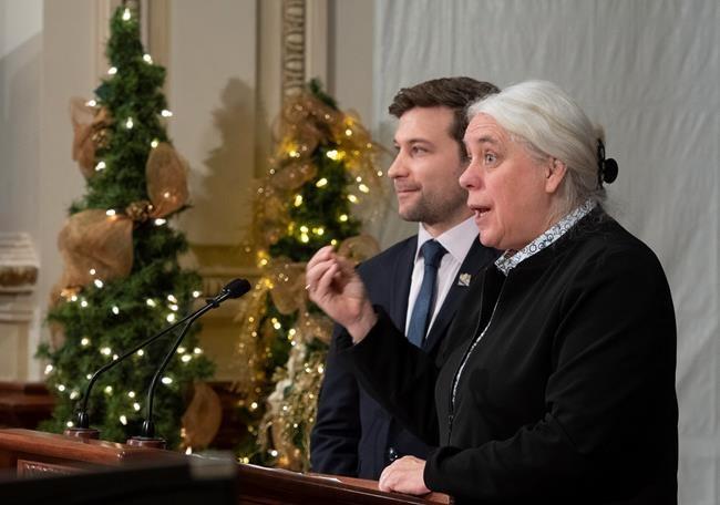 Les membres de Québec solidaire se réunissent à huis clos
