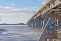 La configuration du nouveau pont de l'île-aux-Tourtes remise en question