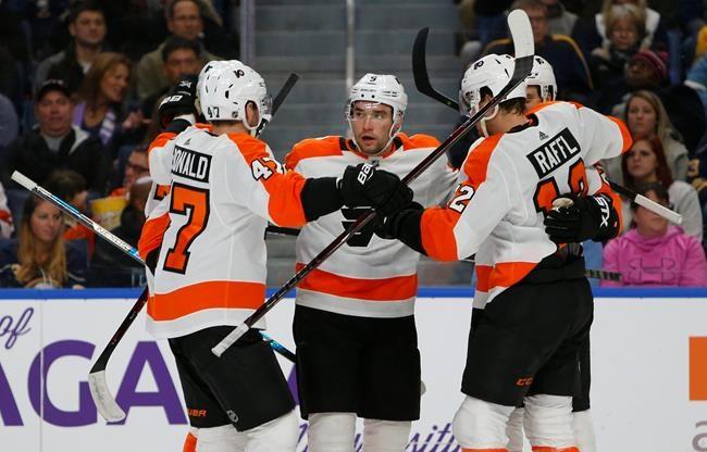 Une victoire de 6-2 des Flyers à Buffalo