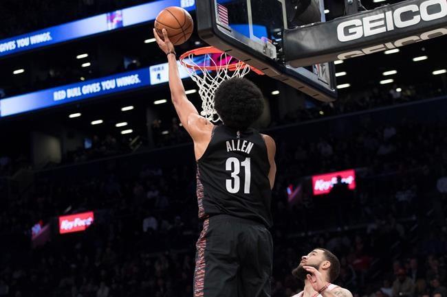 Les Nets battent les Raptors en prolongation