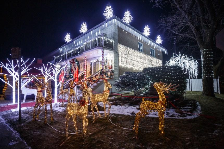 Plus de 70 000 lumières pour un Noël enchanteur