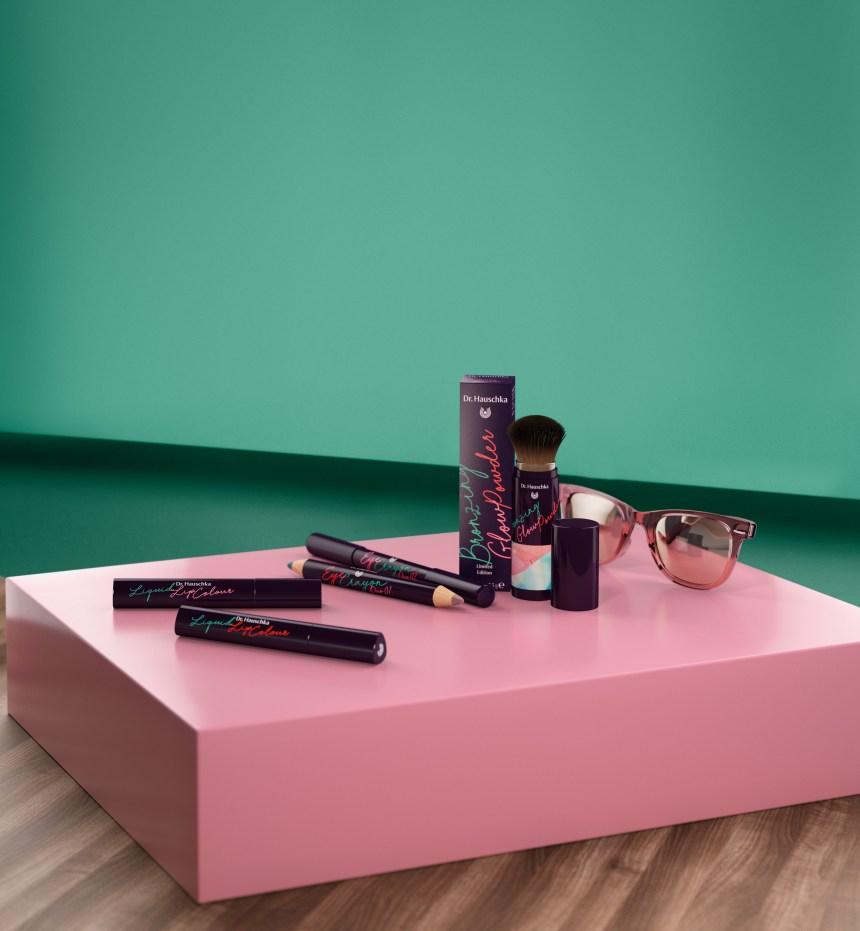 Une nouvelle ligne de maquillage fraîche et colorée chez Dr. Hauschka