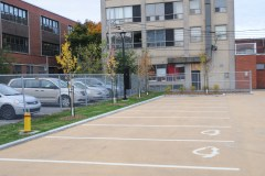 Stationnement écolo dans le Vieux Saint-Laurent