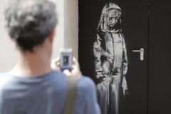 Une oeuvre de Banksy au Bataclan a été volée