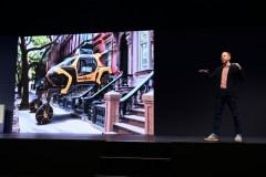 Hyundai dévoile à Las Vegas une voiture qui «rampe» et qui «marche»