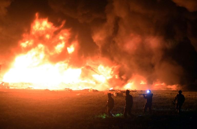 Incendie d'un oléoduc au Mexique: au moins 66 morts et 76 blessés