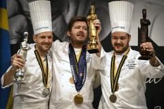 Le Bocuse d'Or remporté par le Danemark sur un podium scandinave