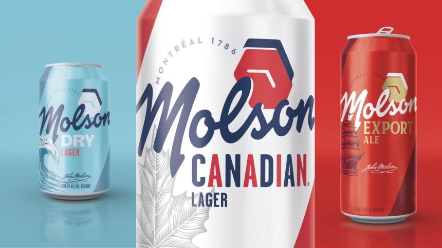 Un nouveau look pour plusieurs bières de Molson