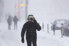 Neige et forts vents attendus au Québec