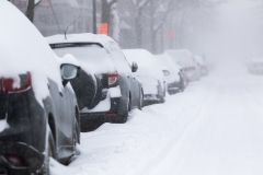Troisième opération de chargement de la neige à Montréal