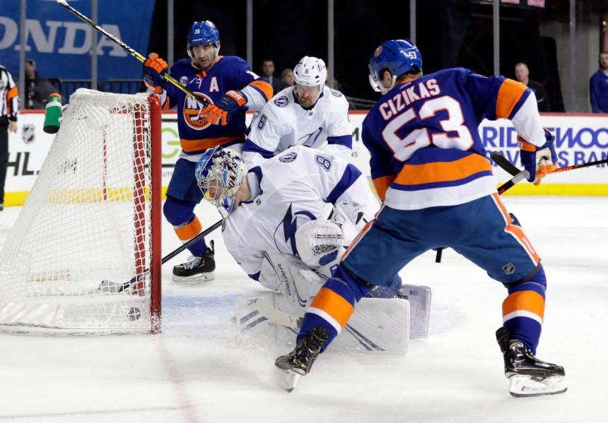 Le Lightning ne peut stopper les Islanders