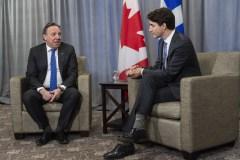Legault fait pression sur Trudeau pour un rapport d'impôt unique