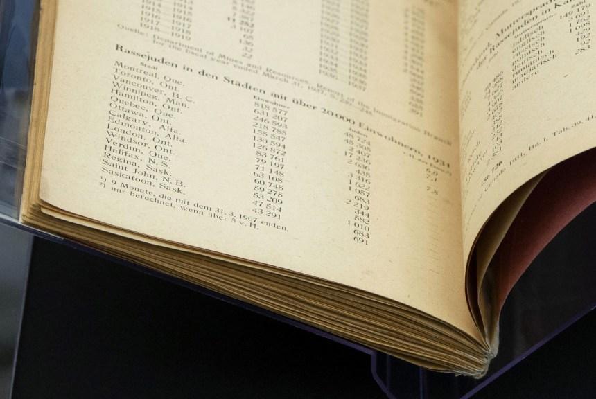 Un livre nazi rare acquis par les archives nationales du Canada