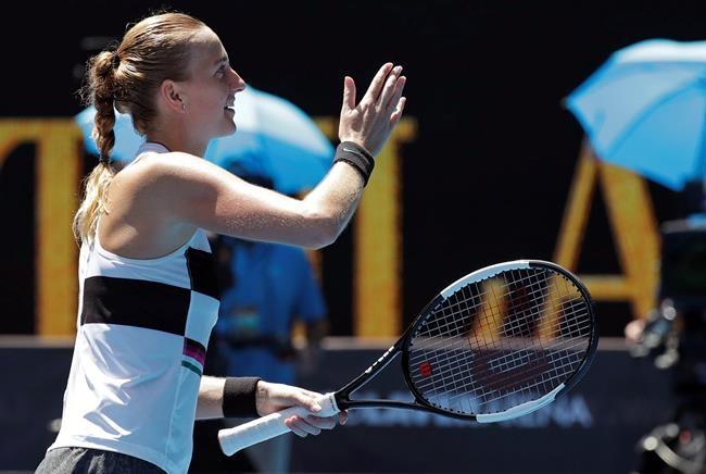 Petra Kvitova atteint les quarts de finale