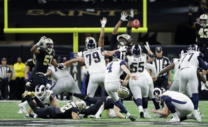 Rams: Greg Zuerlein est blessé au pied