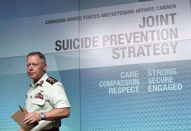 Quinze suicides dans les Forces canadiennes en 2018
