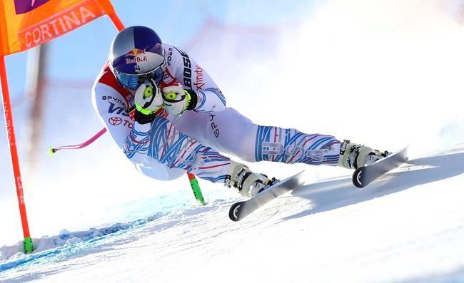 Siebenhofer remporte la descente de Cortina