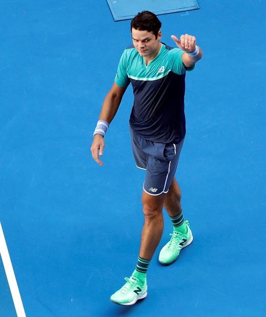 Australie: Raonic gagne et Shapovalov perd