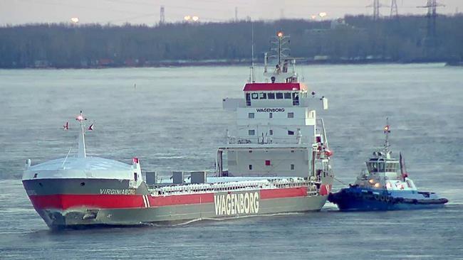 Port de Montréal: premier navire océanique de 2019