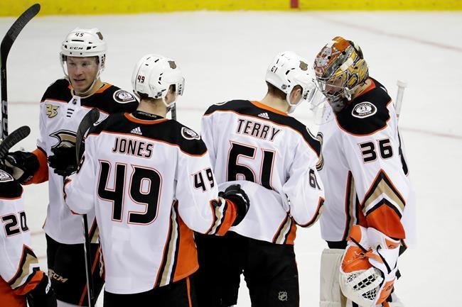 Les Ducks signent un deuxième gain de suite