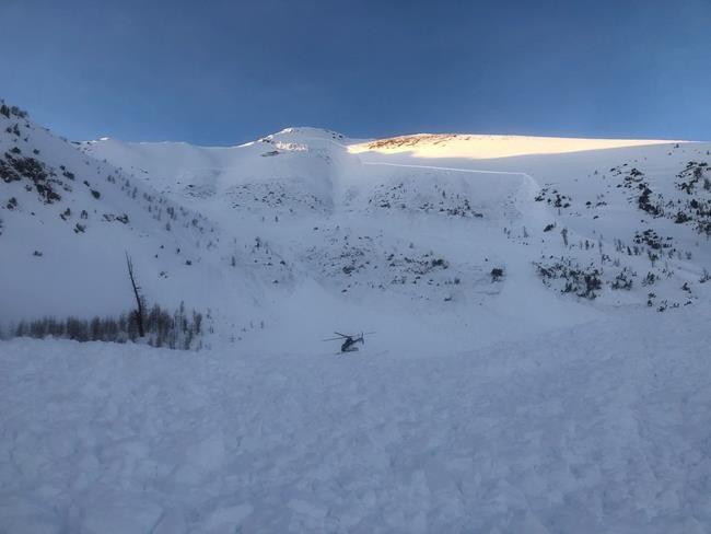 Deux hommes de Calgary victimes d'une avalanche