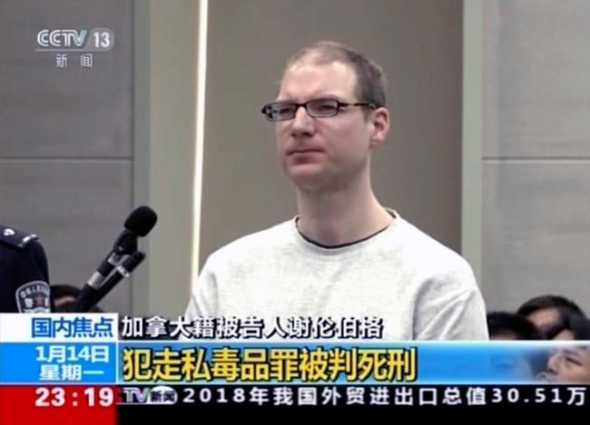 L'ambassadeur du Canada en Chine parle aussi d'une condamnation à mort «arbitraire»