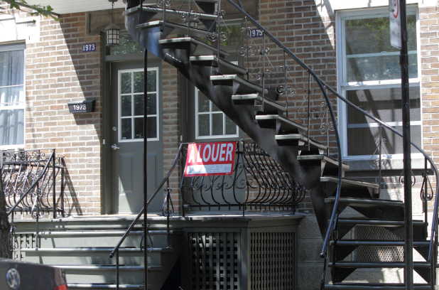Les locataires subissent les effets de la crise du logement à Montréal