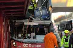Trois morts et plusieurs blessés dans un accident d'autobus à Ottawa