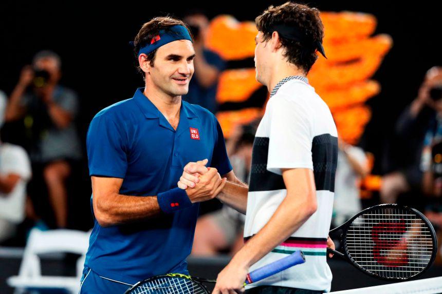 Australie: Federer domine Fritz en trois sets