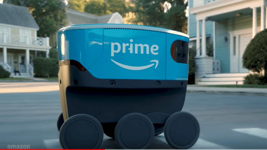Amazon dévoile Scout, son petit robot-livreur
