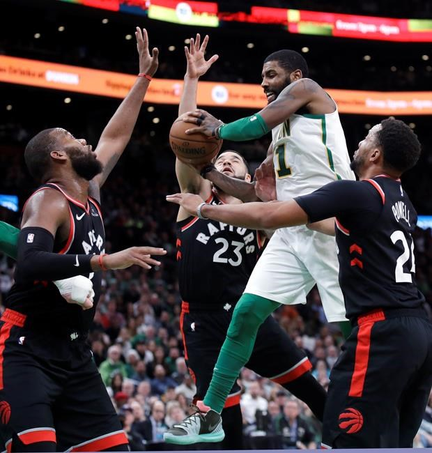 NBA: les Raptors sont battus à Boston